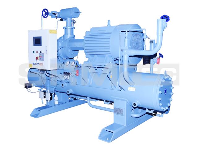 Open-type Single-stage Screw Compressor Unit (horizontal type)