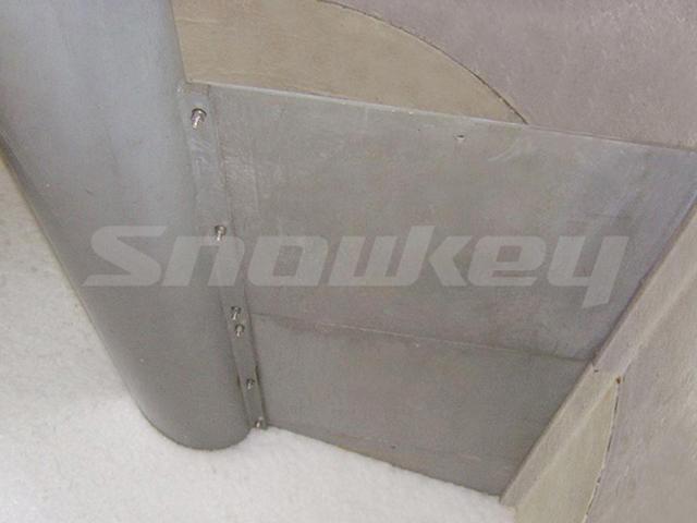 Ice silo