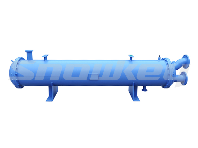 Shell-and-tube condenser