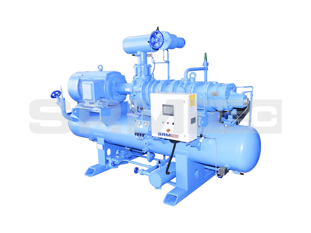 Open-type Two-stage Screw Compressor Unit(vertical)