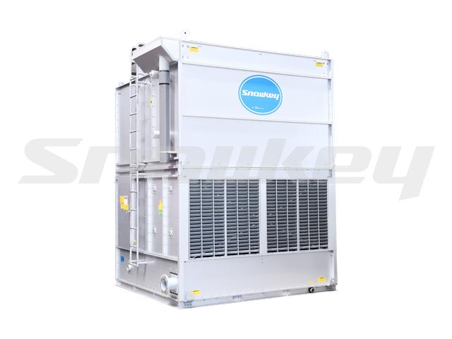 SEC evaporative condenser