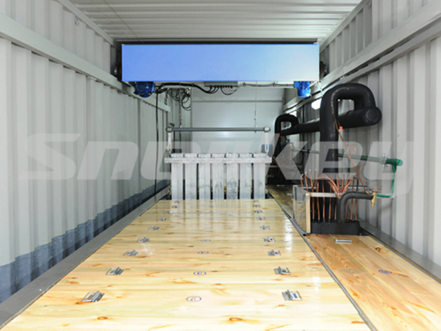 Containerized Brine Tank Type Block Ice Machine B50AF (5T/D)