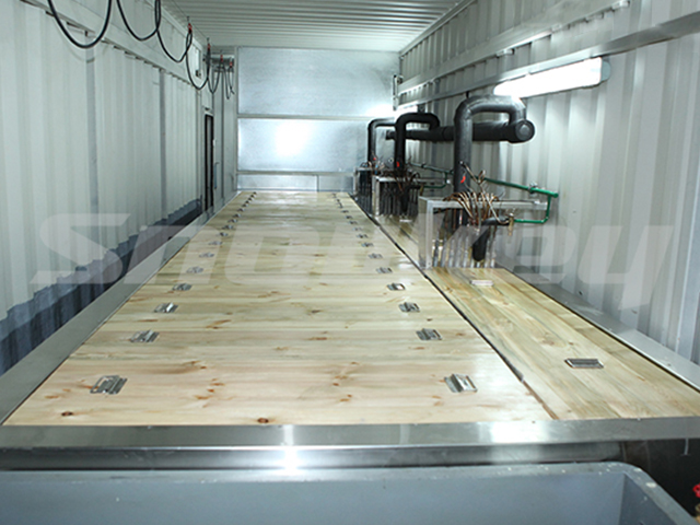 Containerized Brine Tank Type Block Ice Machine B75AF(7.5T/D)