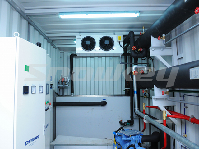 Containerized Water Chiller ICW180 (7.5T/H)