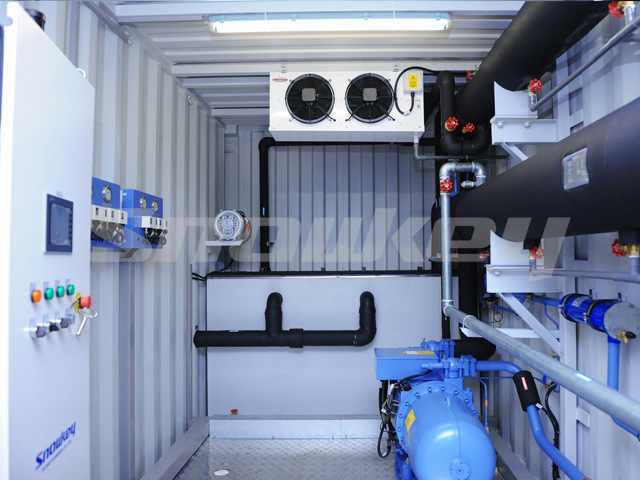Containerized Water Chiller ICW240 (10T/H)