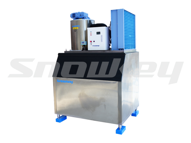 Flake Ice Machine F10A (1T/D + Storage)
