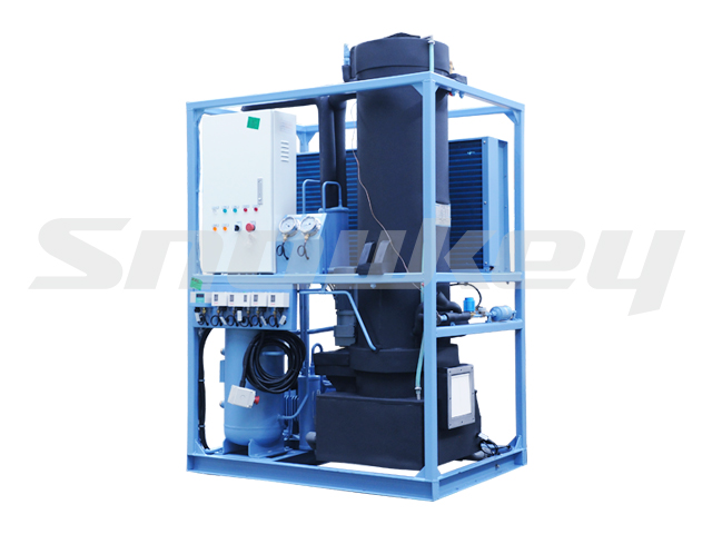 air cooling Tube Ice Machine TIM10A(1T/D+Ice Store)