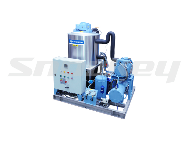 Slurry Ice Machine for Sea Water on Board Using S50W (5T/D)