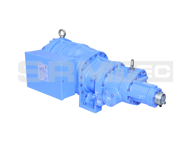 SRS-12 Semi-hermetic Single-stage Screw Compressor